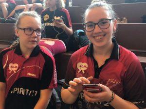 Irena Dujmovic und Melina Schruff Kassel 2019