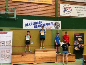 Felipe Friebertshäuser Blautalpokal 2019