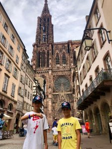 2019-07-07 Jugendaustausch in Strasbourg