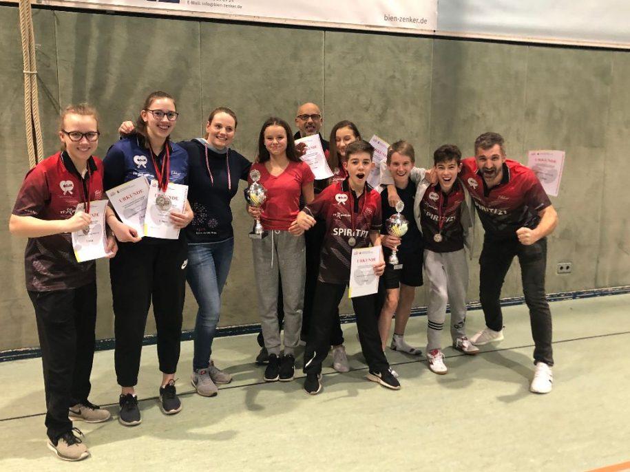 Sportbund Team Samstag Jahrgangsmeisterschaft 2020